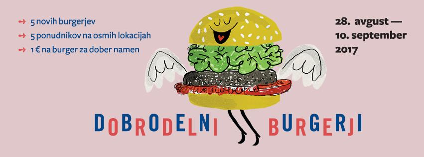 Dobrodelni burger - Odprta kuhinja