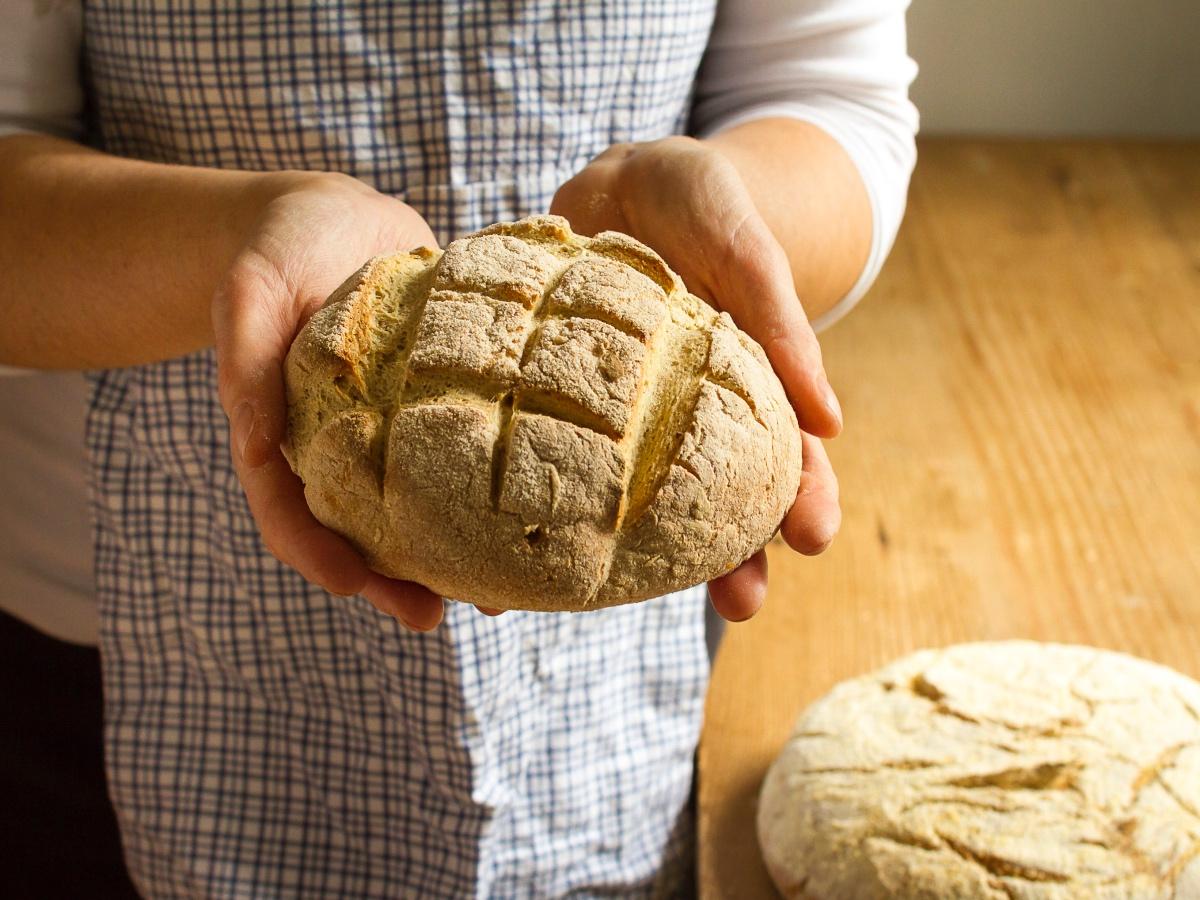 Kruh: kako do hrustljave skorjice? Slika 1