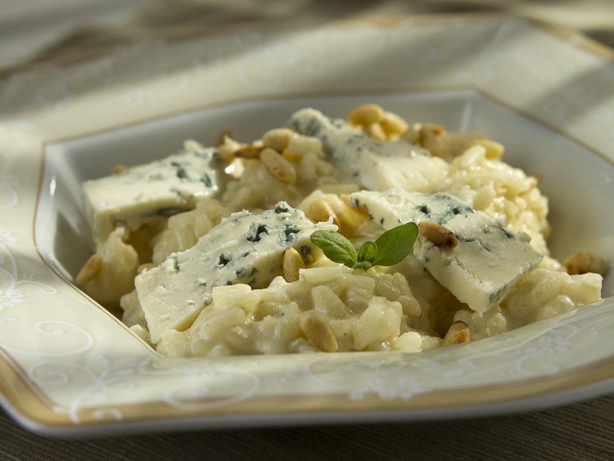 Rižota z gorgonzolo Slika 2