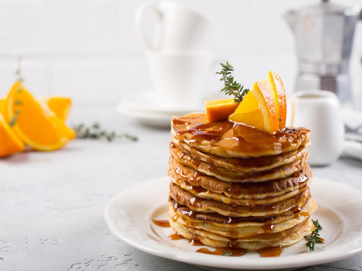 Jogurtove palačinke s pomarančo Slika 2